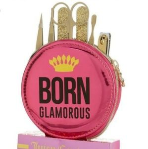 👑 Juicy Couture 7 piece grooming set NEW